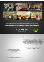10 – 11 April 2014 Riga Latvia