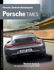 Klartext hoch 4. Porsche Zentrum Olympiapark - sun1.btvi.de