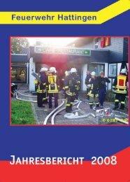 Jahresbericht 2008 - Feuerwehr Hattingen