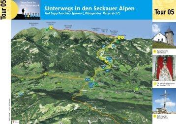 Tour05 Unterwegs in den Seckauer Alpen - Marktgemeinde Seckau
