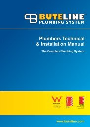 Plumbers Technical & Installation Manual