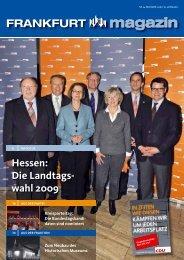 Frankfurt Magazin 04/ 2008 - Dr. Walter Wallmann