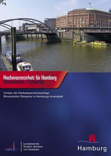 Hochwasserschutz Binnenhafen / Schaartor - Landesbetrieb ...
