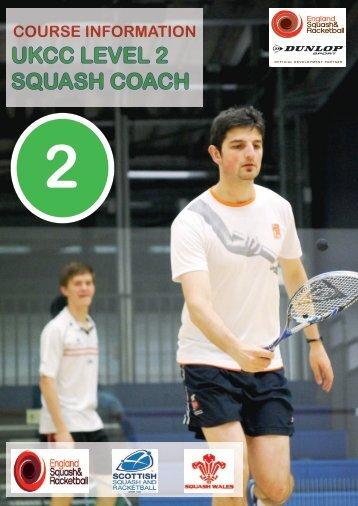 UKCC LEVEL 2 SQUASH COACH - England Squash & Racketball