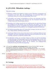 8. § 99 GWB - Öffentliche Aufträge - Vergaberecht in Deutschland
