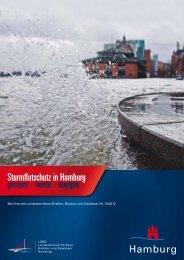 Sturmflutschutz in Hamburg gestern-heute-morgen