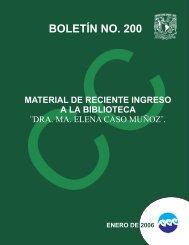 BOLETÍN NO. 200 - Instituto de Ciencias del Mar y Limnología
