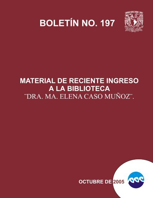 Boletã N No 197 Instituto De Ciencias Del Mar Y Limnologãa