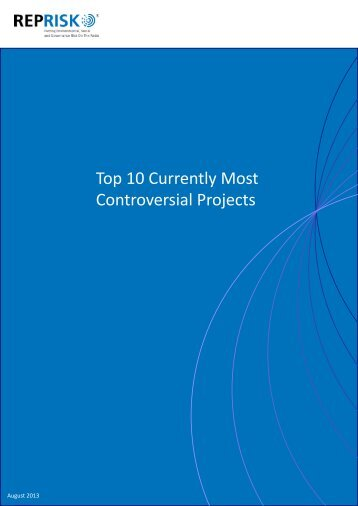 Top 10 Currently Most Controversial Projects