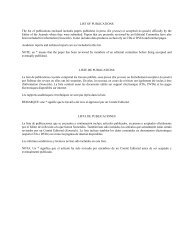 list of publications - Instituto de Ciencias del Mar y Limnología, UNAM