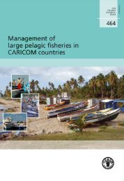 Management of large pelagic fisheries in CARICOM countries