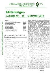 Ausgabe Nr. 55 - Sauerländer Schützenbund