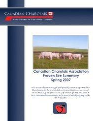 Interpreting the Sire Summary - CCA Breed Improvement