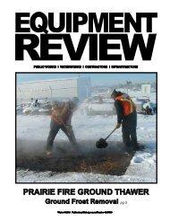 PRAIRIE FIRE GROUND THAWER