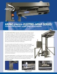 ARPAC ELECTRO-WRAP SERIES