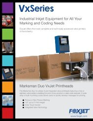 Industrial Inkjet Equipment for All Your Marking and Coding Needs ...