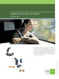 Drahtlose Hörsysteme von Phonak - Hörgeräte Schaaf & Maier