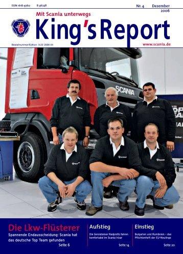 Die Lkw-Flüsterer - Scania