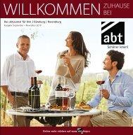 abt Journal für Ulm | Günzburg | Ravensburg | www.abtshop.de, Sept. - Nov. 2015