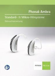 Standard- & Mikro-Hörsysteme - Hörgeräte Schaaf & Maier