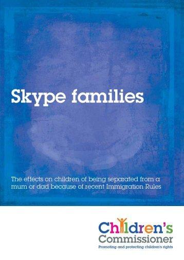 Skype families