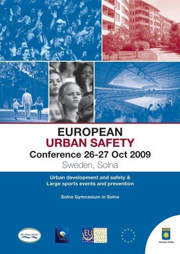 EUROPEAN URBAN SAFETY