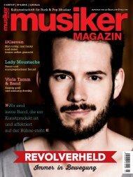 Musiker Magazin 03/2015