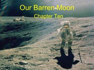 Our Barren Moon