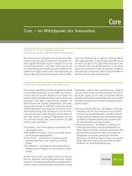 Core – im Mittelpunkt der Innovation - Phonak