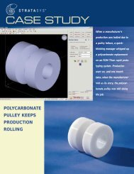 quickthinking prototyping polycarbonate