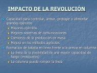 IMPACTO DE LA REVOLUCIÓN