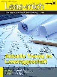Aktuelle Trends Im Leasinggeschäft - Raiffeisen-Leasing