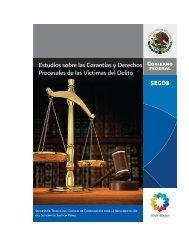 Estudios sobre las Garantías y Derechos Procesales de las Víctimas del Delito
