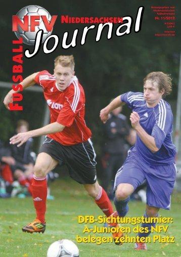 Ausgabe 11-2012 - Niedersächsischer Fußballverband