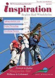Magazin für - Magazin Inspiration - Bad Windsheim