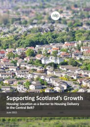 Supporting Scotland's Growth