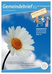 KINDERSEITE - Evangelische Kirchengemeinde Spenge