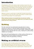 Beekeeping – Making Increase - Page 3