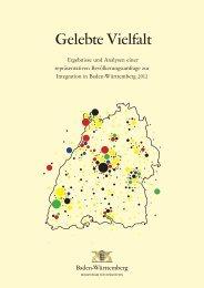 Gelebte Vielfalt - Ministerium für Integration Baden-Württemberg