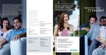 72 Dezibel - Siemens Hearing Instruments
