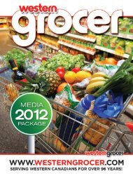 WHY CHOOSE WESTERN GROCER MAGAZINE?
