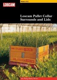 Loscam Pallet Collar Surrounds and Lids
