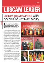 opening of Viet Nam facility