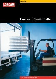 Loscam Plastic Pallet