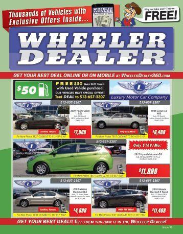 Wheeler Dealer 38-2015