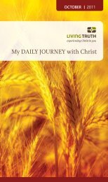 My Daily Journey with Christ