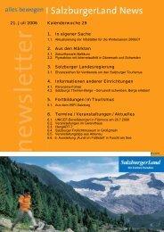 Nummer 29/2006 - SalzburgerLand Netoffice