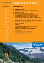 Nummer 23/2005 - SalzburgerLand Netoffice