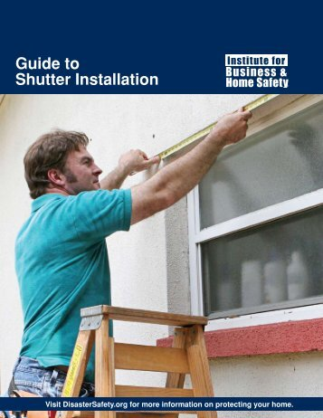 Guide to Shutter Installation