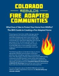 The IBHS Guide to Creating a Fire Adapted Home